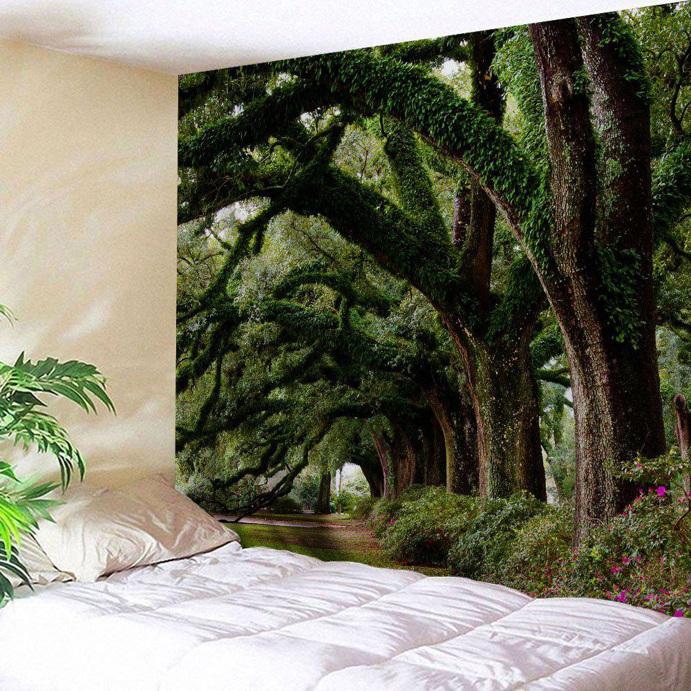 Latest Trees Avenue Print Tapestry Wall Hanging Art Decoration