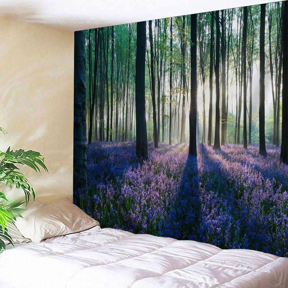 Latest Forest Floral Print Tapestry Wall Hanging Art Decoration