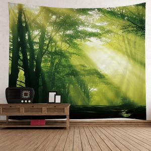 Sunlight Forest Avenue Print Tapestry Wall Hanging Art Decoration -