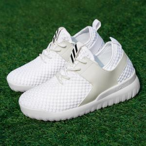 Breathable Mesh Faux Leather Insert Athletic Shoes - WHITE 40