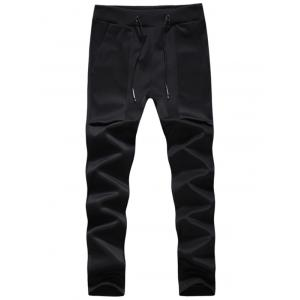 Pockets Drawstring Sport Jogger Pants