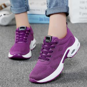 Breathable Air Cushion Mesh Athletic Shoes -