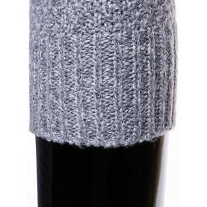 Knit Blends Crew Neck Long Sleeve Sweater -