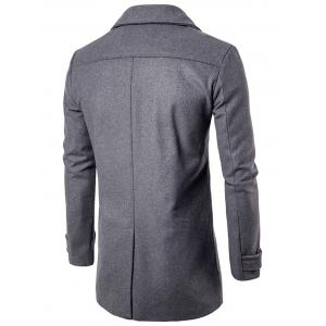Manteau Blend à laine double breasted - Gris M