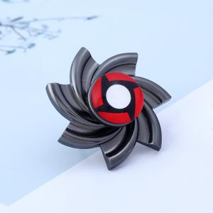 Adjustable Pinwheel Shape Fidget Spinner Finger Ring