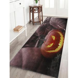 Halloween Pumpkin Pattern Anti-skid Water Absorption Area Rug