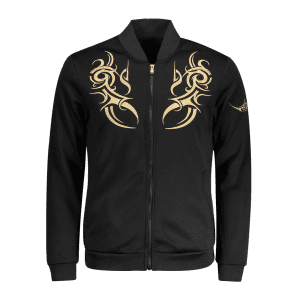 Zip Up Embroidered Mens Jacket -