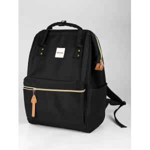 Canvas Top Handle Travel Backpack - BLACK