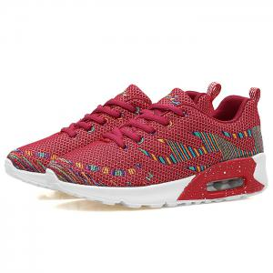 Air Cushion Embroidery Line Athletic Shoes -