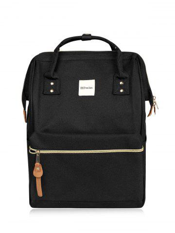 Outfit Canvas Top Handle Travel Backpack