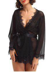 Mesh See Through Cover Up Dress