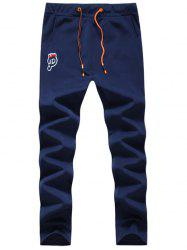 P Patch Drawstring Sweatpants