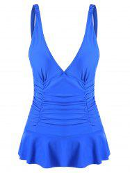 Ruched Plunge One-piece Swimwear