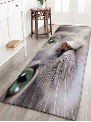 Lovely Cat Pattern Antislip Flannel Bath Rug