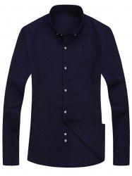 Pocket Button Down Long Sleeve Shirt