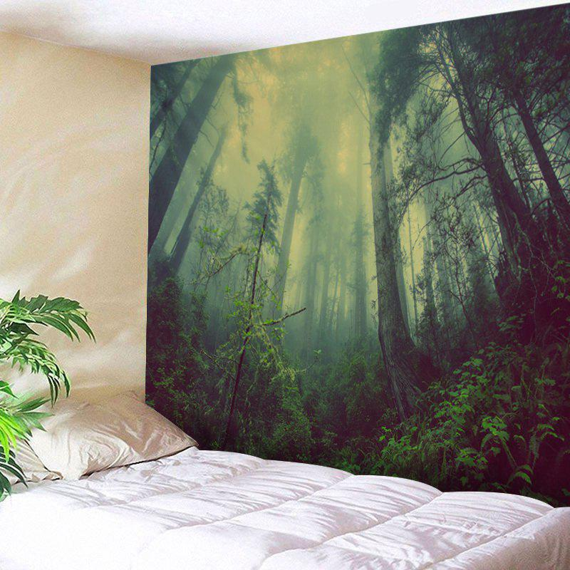 Sale Mountain Forest Fog Print Tapestry Wall Hanging Art Decoration