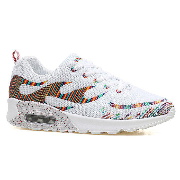 Cheap Air Cushion Embroidery Line Athletic Shoes