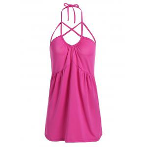 Strappy Halter High Waist Backless Tank Top