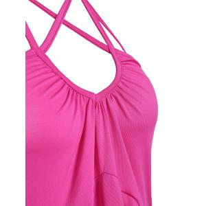 Strappy Halter High Waist Backless Tank Top -