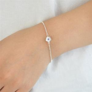 Rhinestone Metal Flower Cute Bracelet -