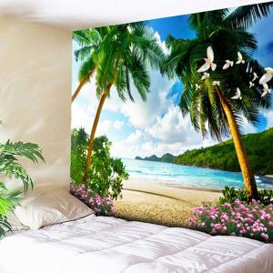 Wall Hanging Beach Coconut Tree Tapestry