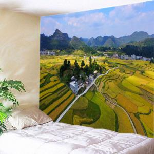 Countryside Fields Print Tapestry Wall Hanging Art Decoration