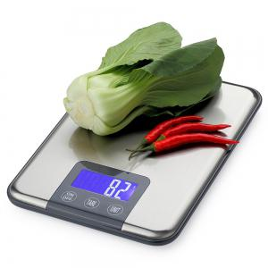 Kitchen High Precision Digital Mini Electronic Scale - Silver - 22.5*16.5*1.7cm(15kg And 1g)