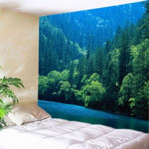 Lake Forest Print Tapestry Wall Hanging Art Decoration