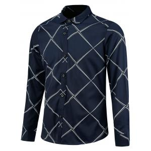 Long Sleeve Large Check Shirt