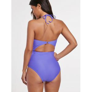 One Piece Cut Out Backs Swimsuit -