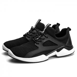 Breathable String Stretch Fabric Athletic Shoes -