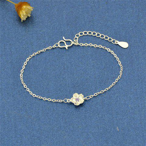 Sale Rhinestone Metal Flower Cute Bracelet