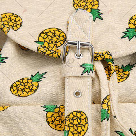 Store Canvas Fruit Printed Backpack - PALOMINO  Mobile