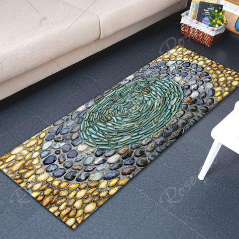 Shop Pebbles Printed Water Absorption Flannel Rug - W16 INCH * L47 INCH COLORMIX Mobile