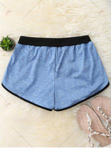 Affordable Dolphin Pajama Shorts - XL BLUE Mobile