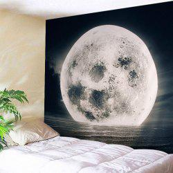 Sea Moon Print Tapestry Wall Hanging Art Decoration