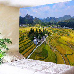 Countryside Fields Print Tapestry Wall Hanging Art Decoration -