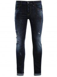 Straight Ripped Vintage Jeans