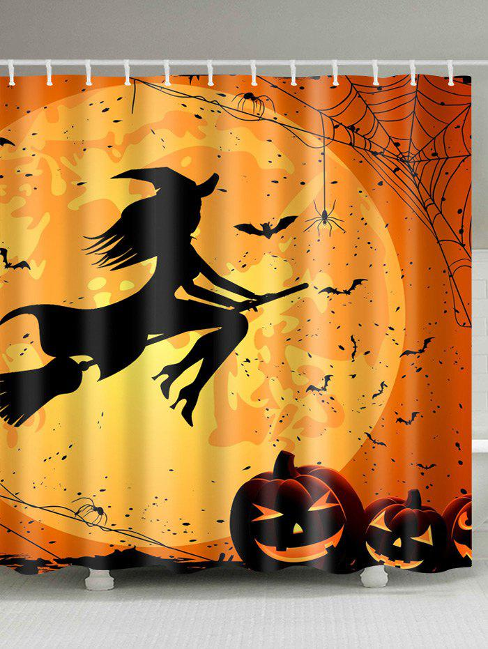 Outfits Halloween Witch Polyester Fabric Shower Curtain