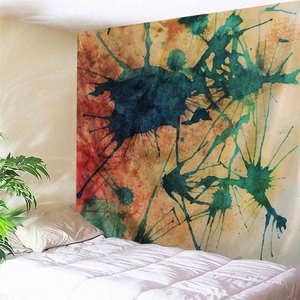 Trendy Ink Painting Wall Art Hanging Fabric Tapestry