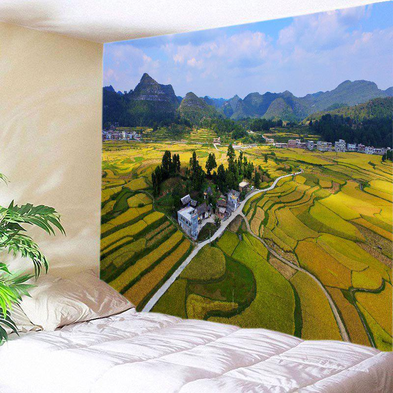 Chic Countryside Fields Print Tapestry Wall Hanging Art Decoration