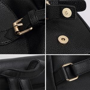 Sac à dos Faux Leather Buckles -