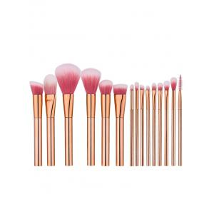 15Pcs Eye Face Makeup Brushes Set