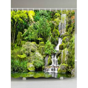 Natural Scenery Printed Eco-Friendly Shower Curtain