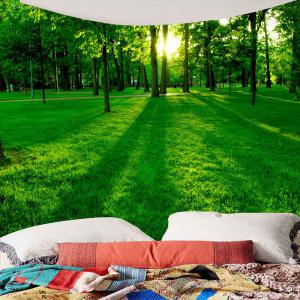 Waterproof Forest Grass Printed Wall Hanging Tapestry