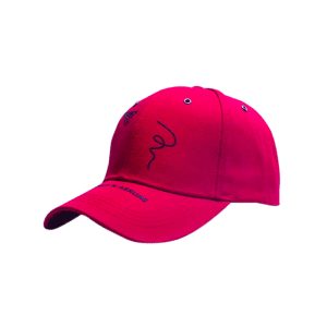 Paper Plane Pattern Letters Embroidery Baseball Hat - Red