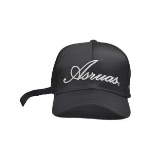 Letters Embroidery Long Tail Embellished Baseball Cap -