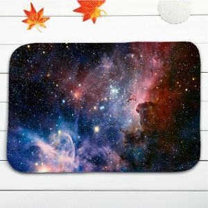 3Pcs/Set Star Sky Pattern Flannel Toilet Bath Rug -