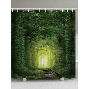 Fairy Forest Railway Anti-bacteria Shower Curtain