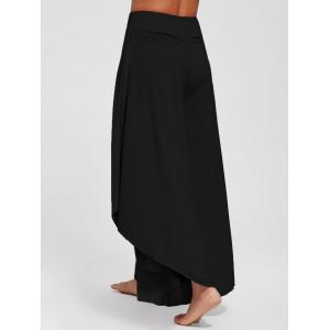 Pantalon culotte chevauchant -